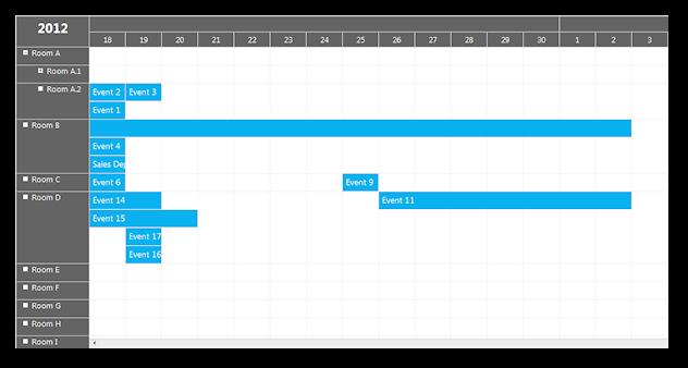 scheduler windows 8 theme